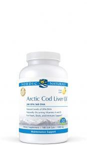 Arctic Cod Liver Oil - 180 Soft Gels