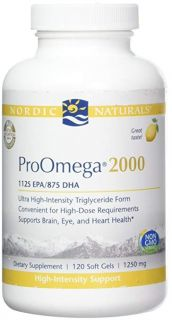 ProOmega 2000 Lemon - 120 Soft Gels