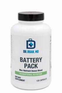Battery Pack   120 Capsules