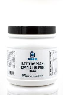 Battery Pack Special Blend Lemon